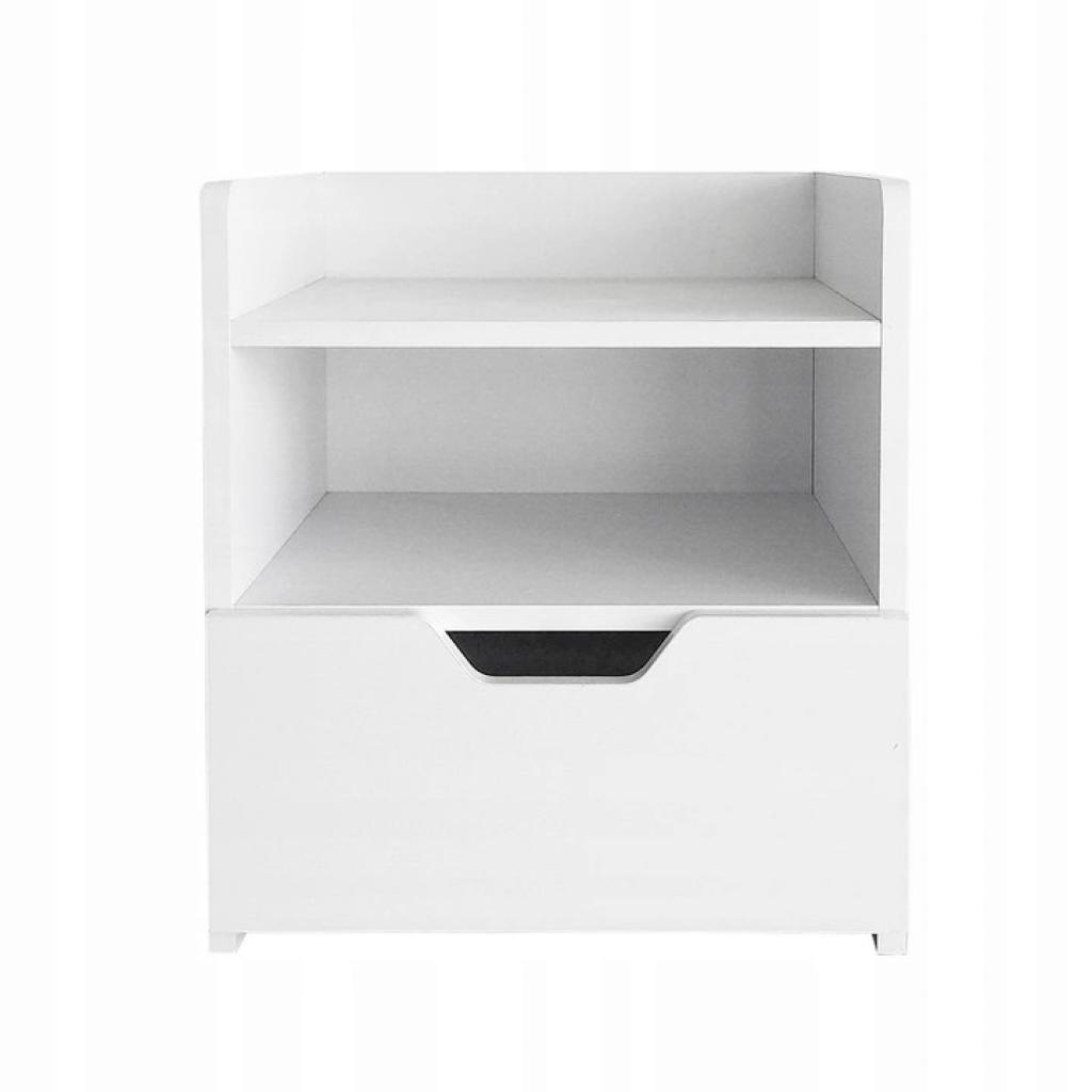 Produktové foto Noční stolek Anton ModernHome bílý