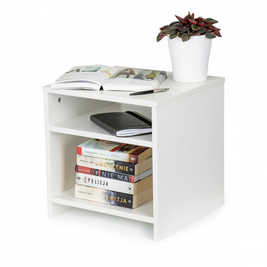 Produktové foto Noční stolek Einar ModernHome bílý