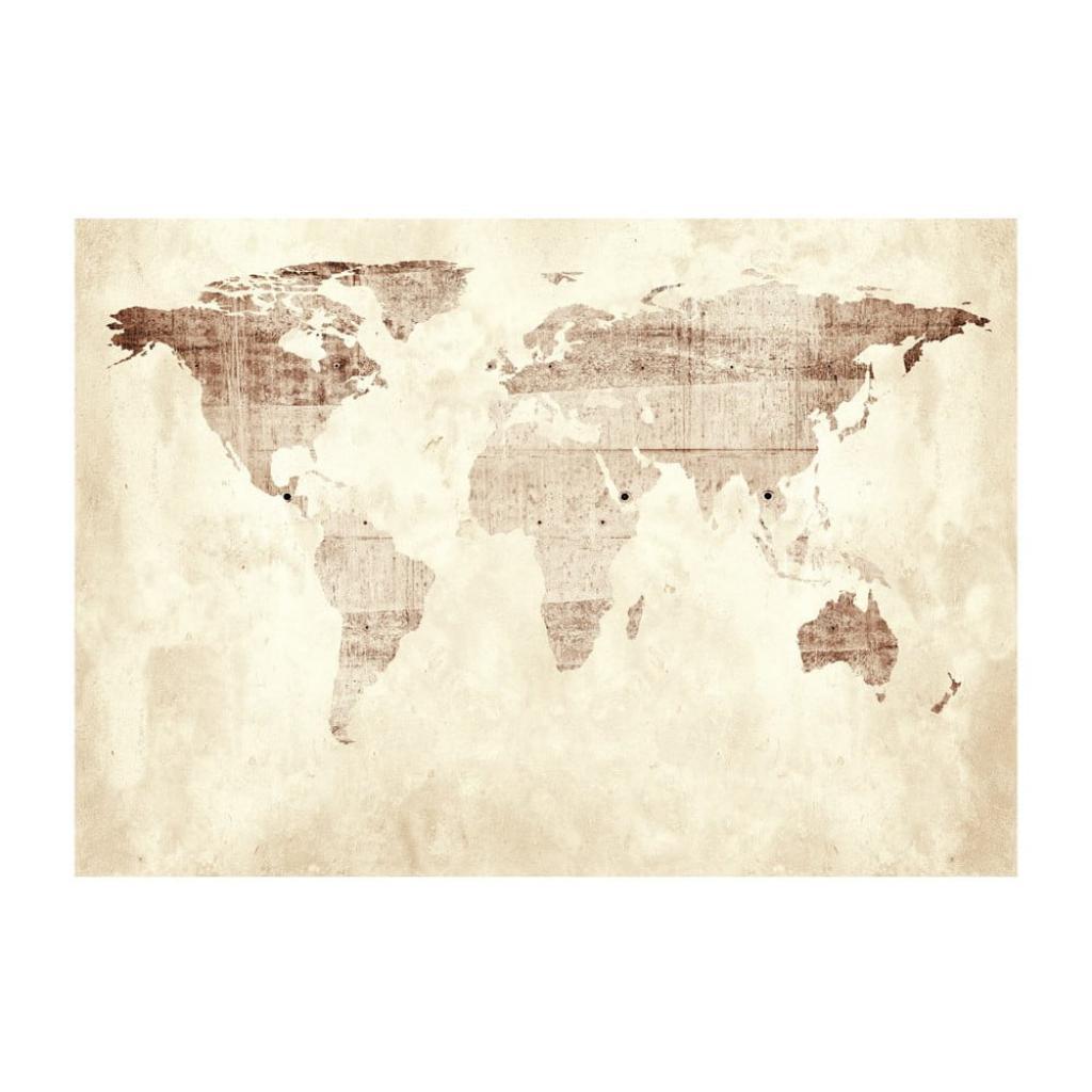 Produktové foto Velkoformátová tapeta Artgeist Precious Map, 400x280cm