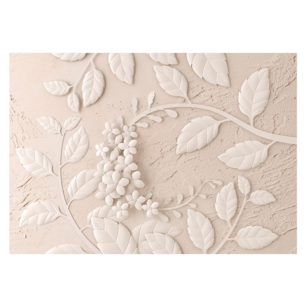 Produktové foto Velkoformátová tapeta Artgeist Beige Paper Flowers, 400x280cm