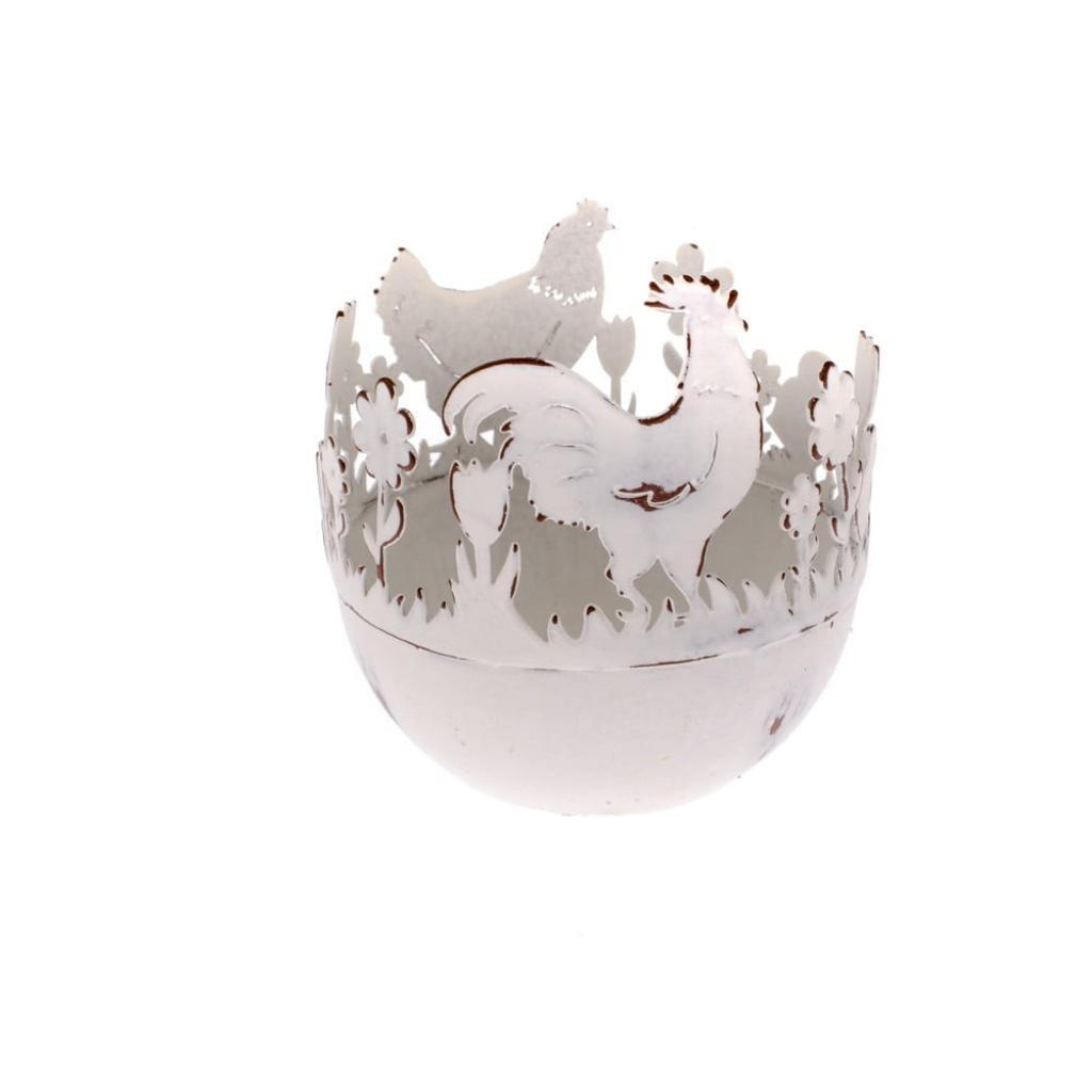 Produktové foto Kovový dekorativní držák na vajíčka s kuřátky Dakls