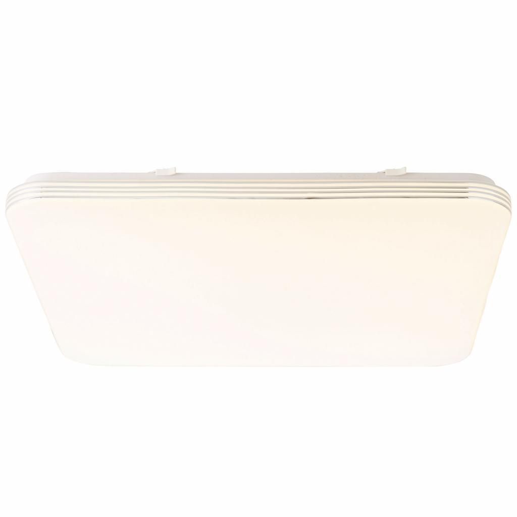 Produktové foto Brilliant LED stropní svítidlo Ariella bílá/chrom 54 x 54 cm