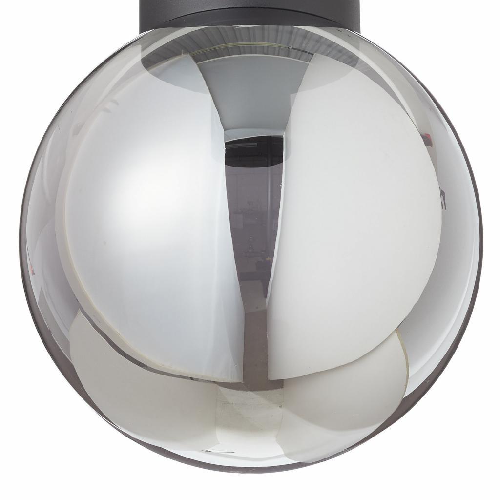Produktové foto Brilliant Stropní světlo Astro, kouřově šedé stínidlo Ø 25cm