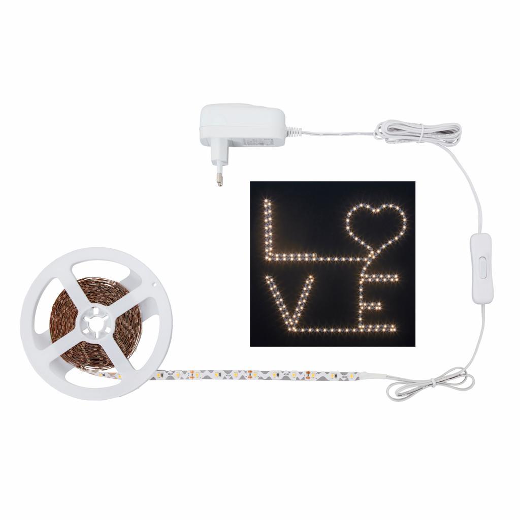 Produktové foto Briloner LED pásek 2264-180 S-Shape, teplá bílá