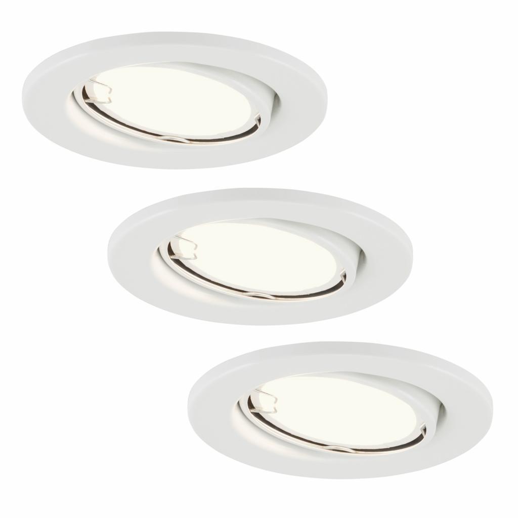 Produktové foto Briloner LED zapuštěná světla 7221-036 Fit sada 3ks v bílé