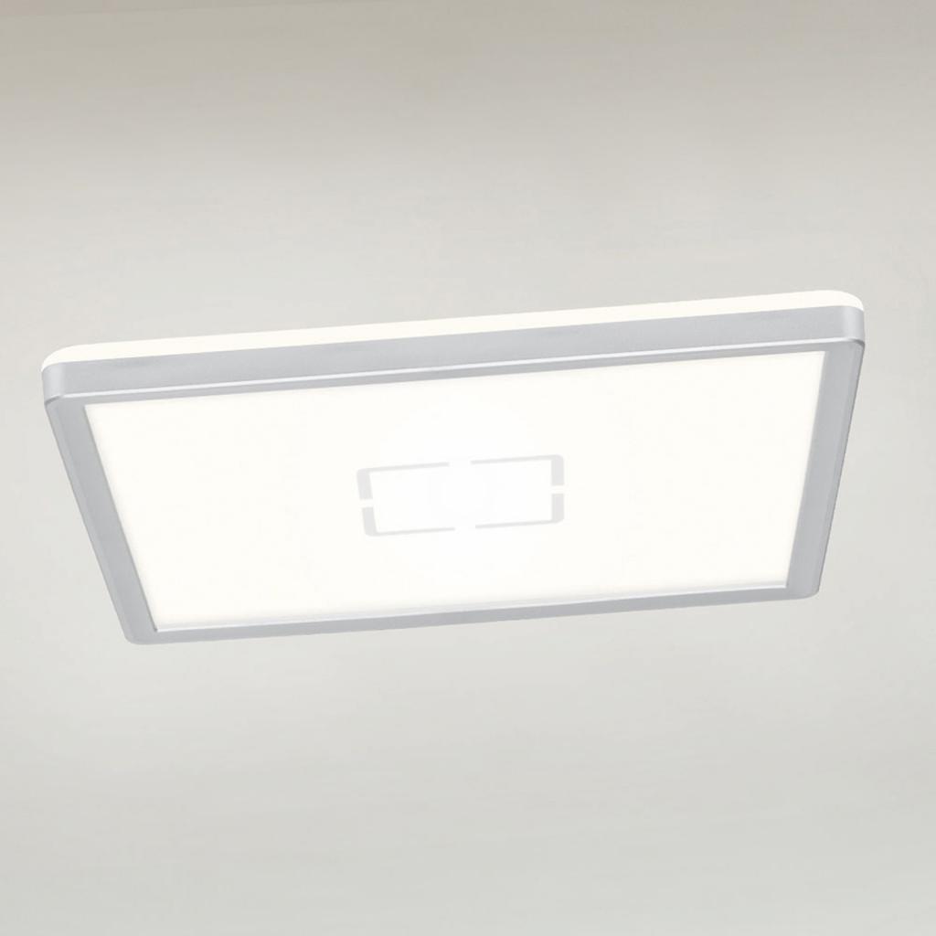 Produktové foto Briloner LED stropní svítidlo Free, 29 x 29 cm, stříbrná