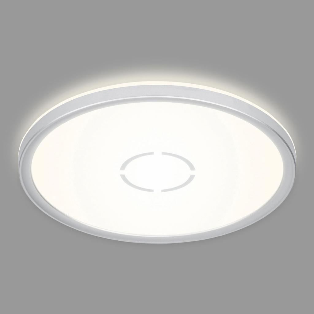 Produktové foto Briloner LED stropní svítidlo Free, Ø 29 cm, stříbrná