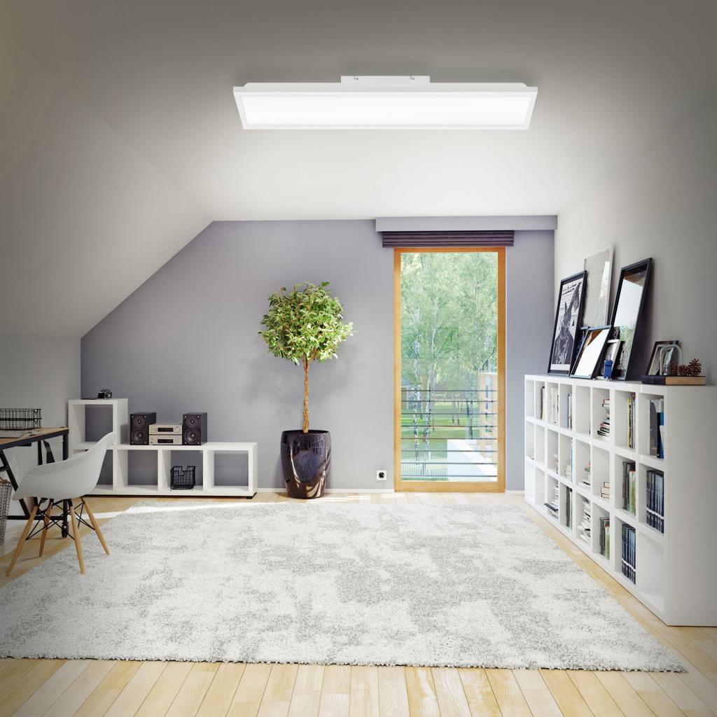 Produktové foto Briloner Stropní lampa LED WiFi s dálkovým ovládáním