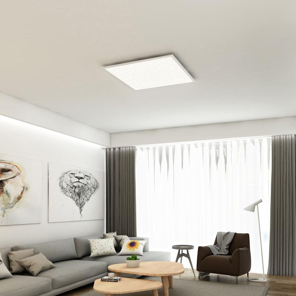 Produktové foto Briloner LED panel hvězdná obloha 7392, 59 x 59 cm