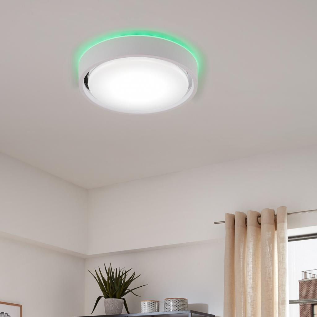 Produktové foto Briloner Stropní lampa LED Talena M RGB CCT, senzor, černá