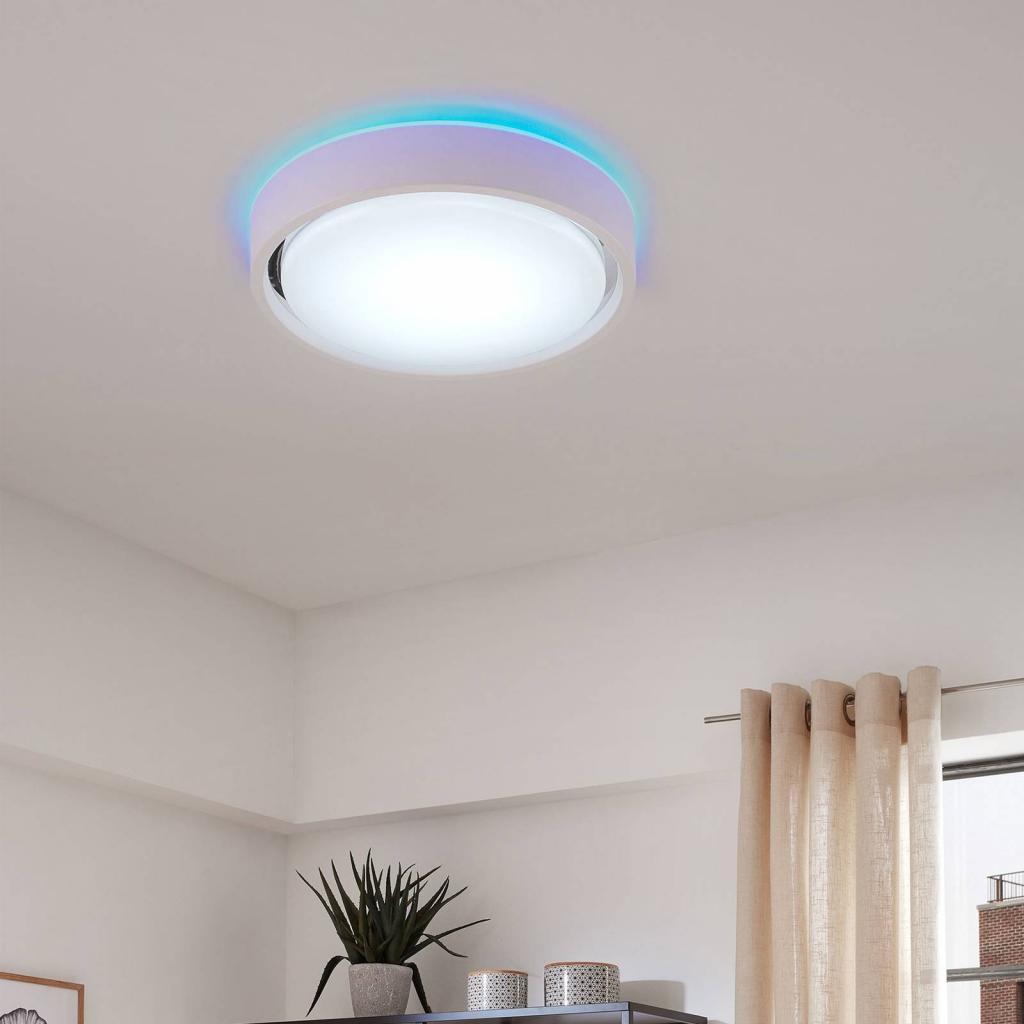 Produktové foto Briloner Stropní lampa LED Talena M RGB CCT, senzor, bílá