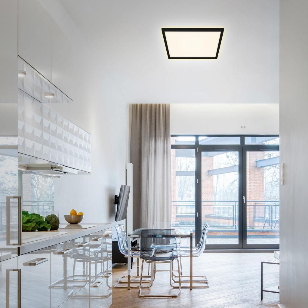 Produktové foto Briloner LED stropní světlo 7364, 42 x 42 cm, černá