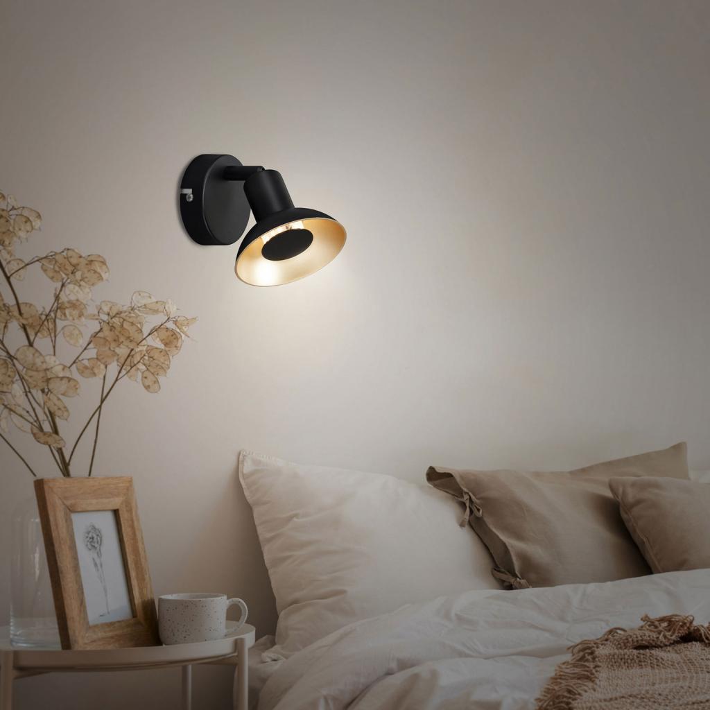 Produktové foto Briloner LED nástěnné světlo Kukui, jeden zdroj
