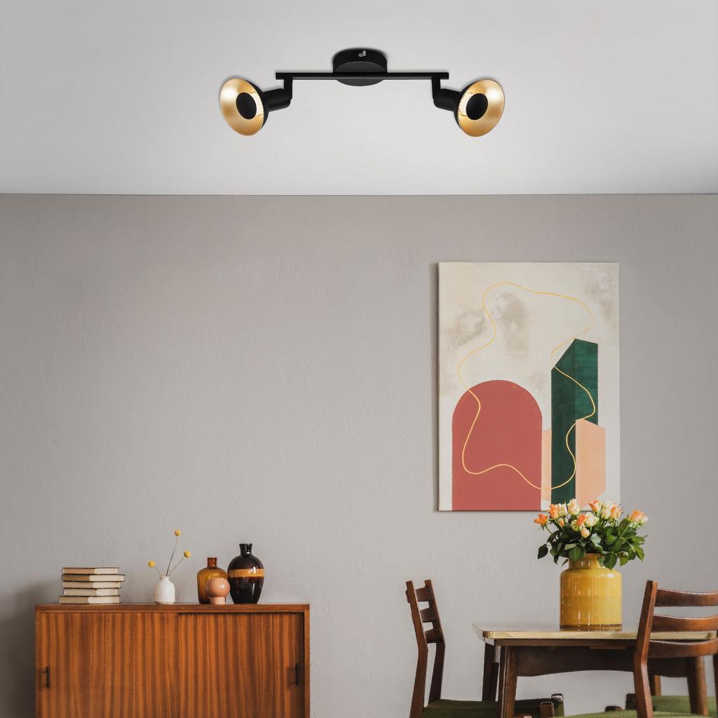 Produktové foto Briloner LED stropní svítidlo Kukui, dva zdroje
