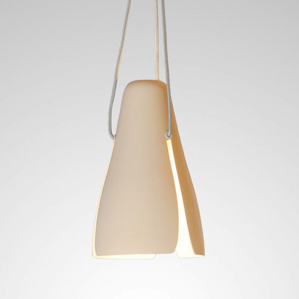 Produktové foto B.lux Růžové závěsné světlo LED Ginkgo S20, 20 cm