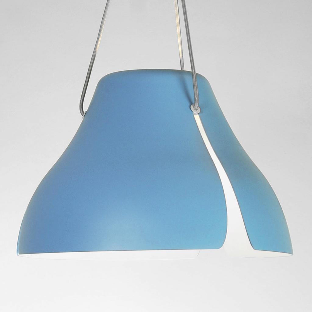 Produktové foto B.lux LED závěsné světlo Ginkgo S40 40cm modrá