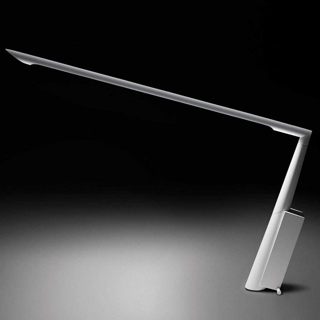 Produktové foto B.lux Designová stolní lampa LED Eliana T, bílá matka