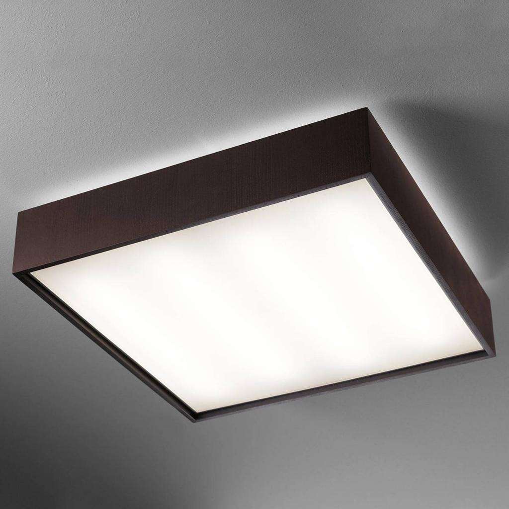 Produktové foto B.lux LED stropní svítidlo Quadrat C 60 x 60 wenge