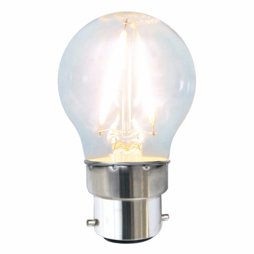 Produktové foto Best Season B22 2W 827 LED kapková žárovka