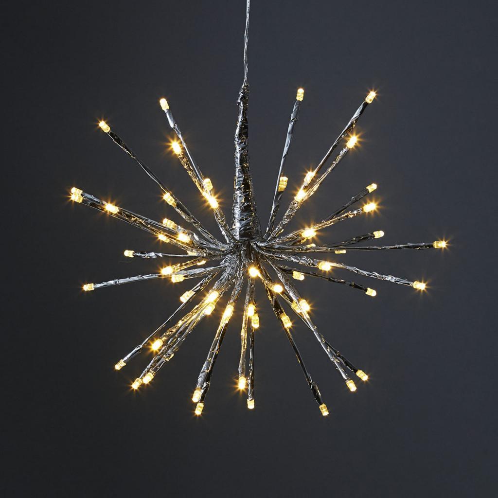 Produktové foto Best Season 8 světelných variant - světlo Firework stříbrná
