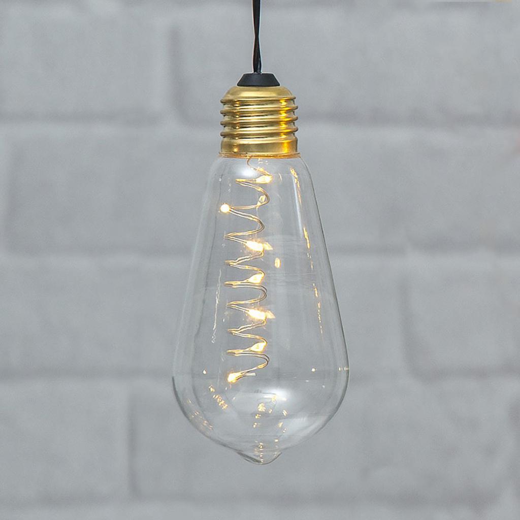 Produktové foto Best Season Vintage LED dekorační světlo Glow s časovačem čirá