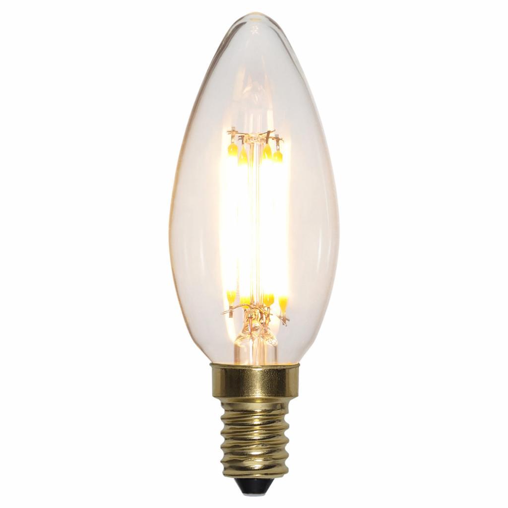 Produktové foto Best Season LED svíčka E14 4W Soft Glow 2100K 3x stmívač