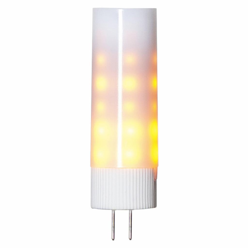 Produktové foto Best Season LED dvoukolíková žárovka G4 1200K Flame lamp