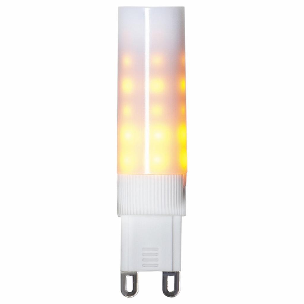 Produktové foto Best Season LED dvoukolíková žárovka G9 1200K Flame lamp