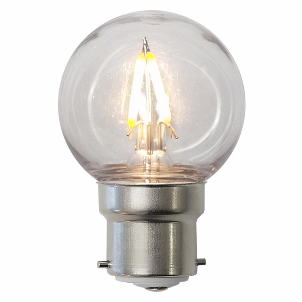 Produktové foto Best Season LED žárovka B22 G45 1,3W, nerozbitná, čirá, IP60