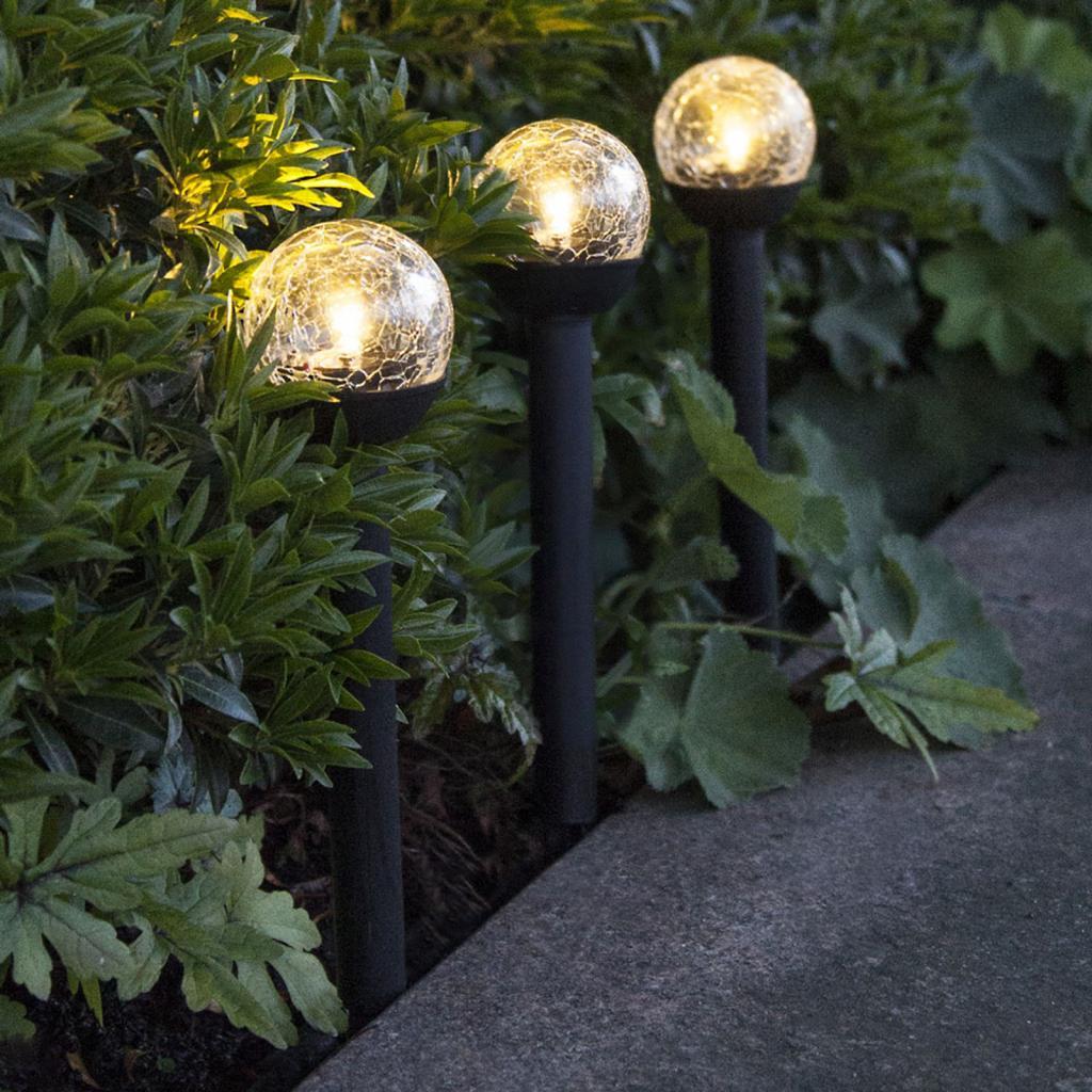 Produktové foto Best Season LED solární světlo Roma, set 3ks