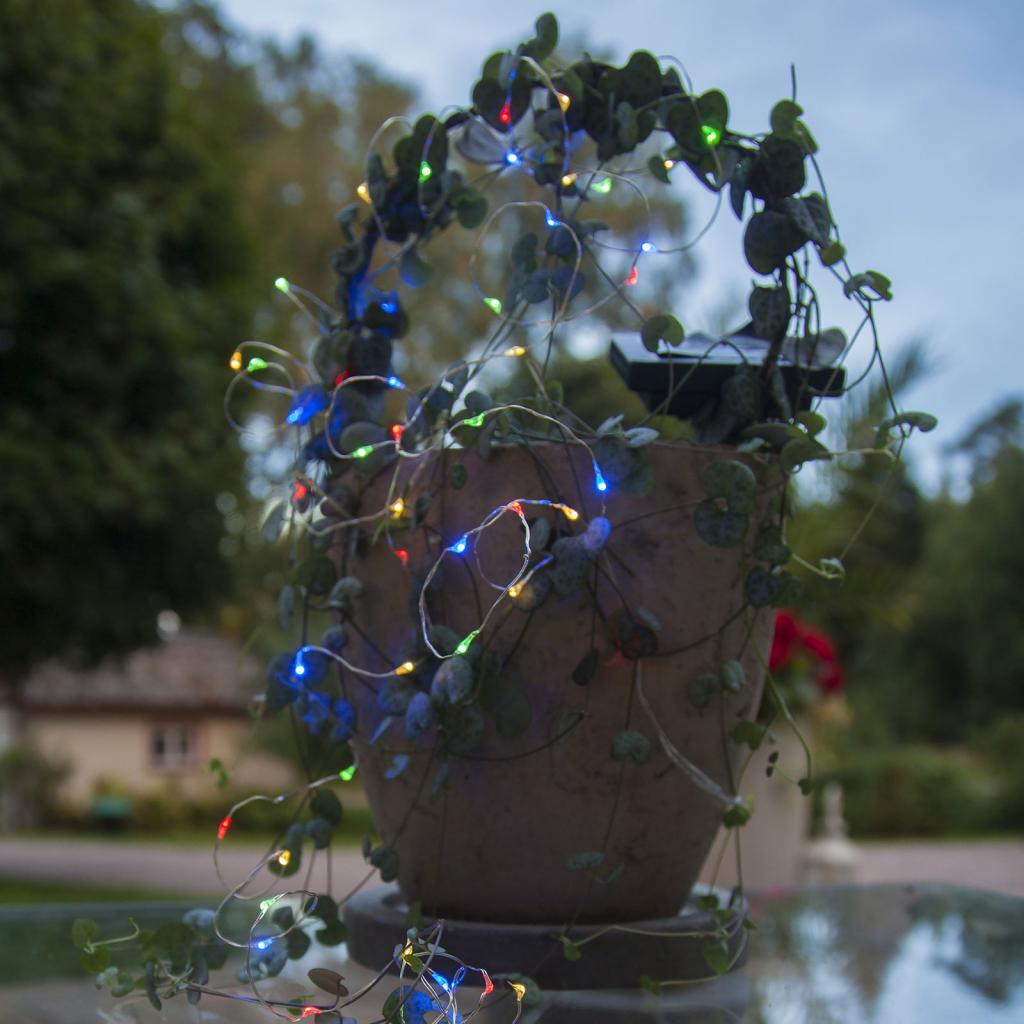 Produktové foto Best Season Vícebarevná solární světla LED Dew Drop