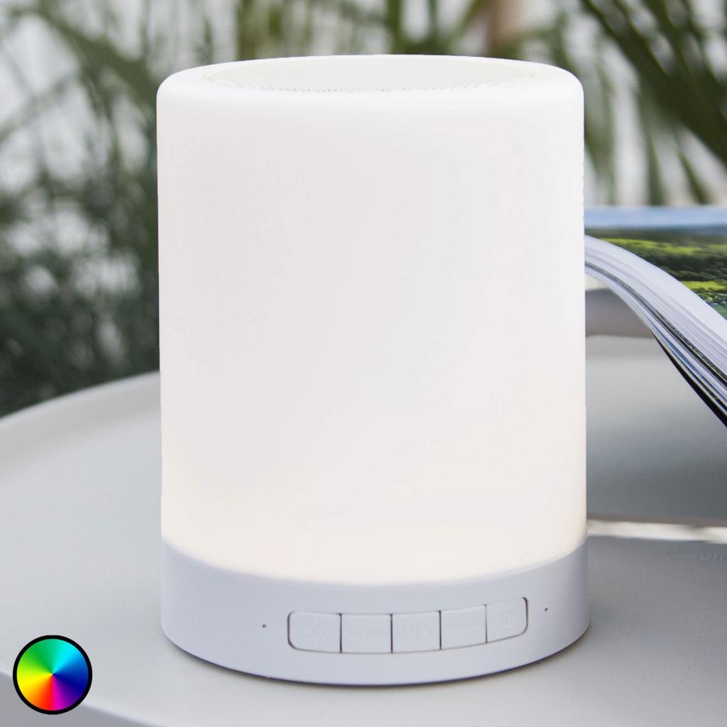 Produktové foto Best Season stolní lampa LED 362-81 s RGBW a reproduktory