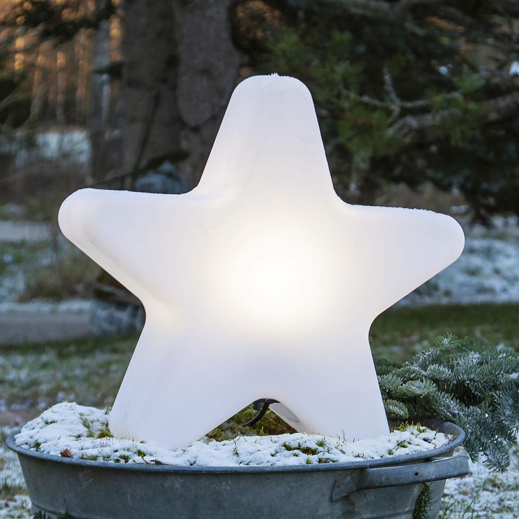 Produktové foto Best Season Terasové světlo Gardenlight ve tvaru hvězdy