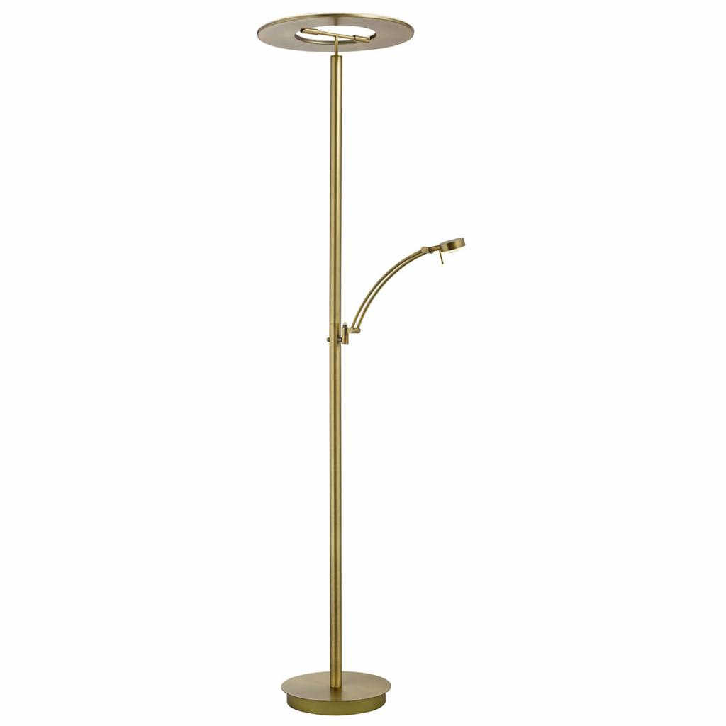 Produktové foto B-Leuchten B-Leuchten Monza LED stropní lampa, čtecí rameno