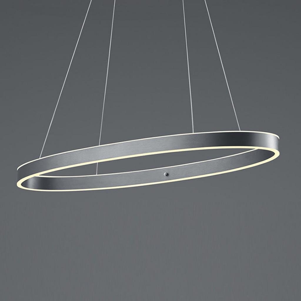 Produktové foto B-Leuchten B-Leuchten Delta LED závěsné světlo, antracitové