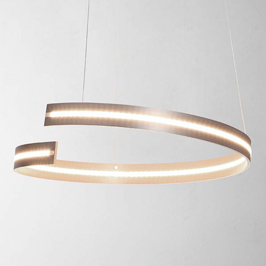 Produktové foto BOPP Bopp Break - závěsné světlo LED 40 cm, hliník