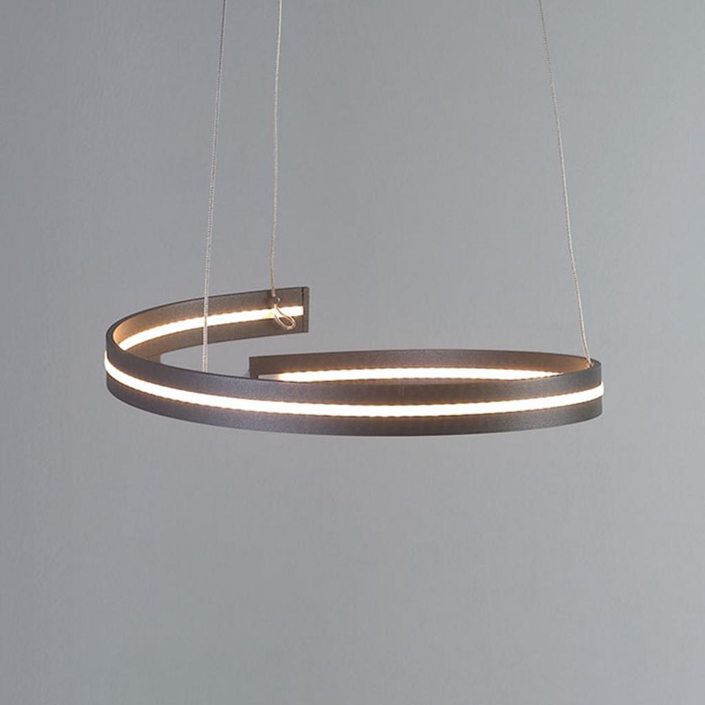 Produktové foto BOPP Bopp Break - LED závěsné světlo 40 cm antracit