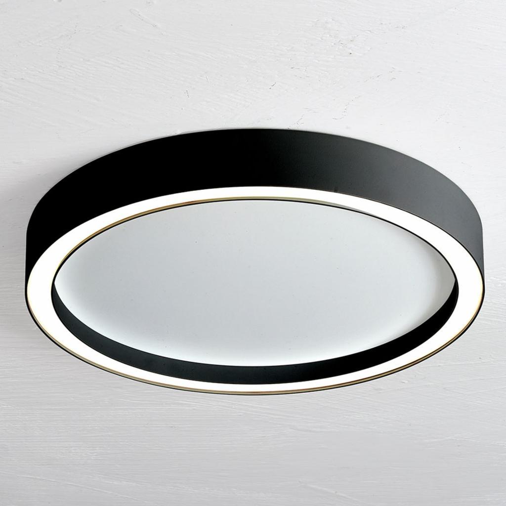 Produktové foto BOPP Bopp Aura LED stropní svítidlo Ø 55cm bílá/černá