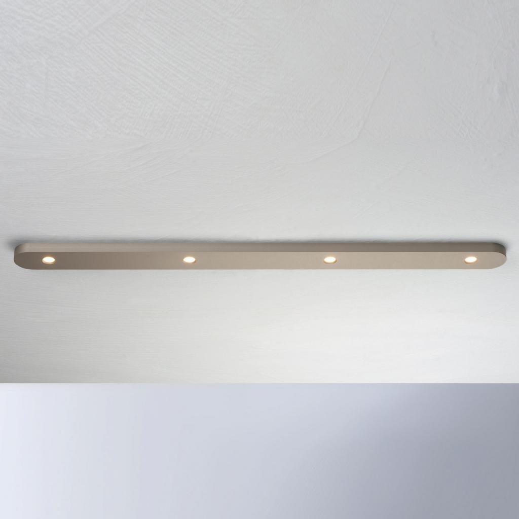 Produktové foto BOPP Bopp Close LED stropní svítidlo čtyři zdroje taupe