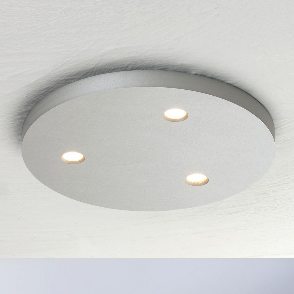 Produktové foto BOPP Bopp Close LED stropní světlo 3zdroje kulaté alu
