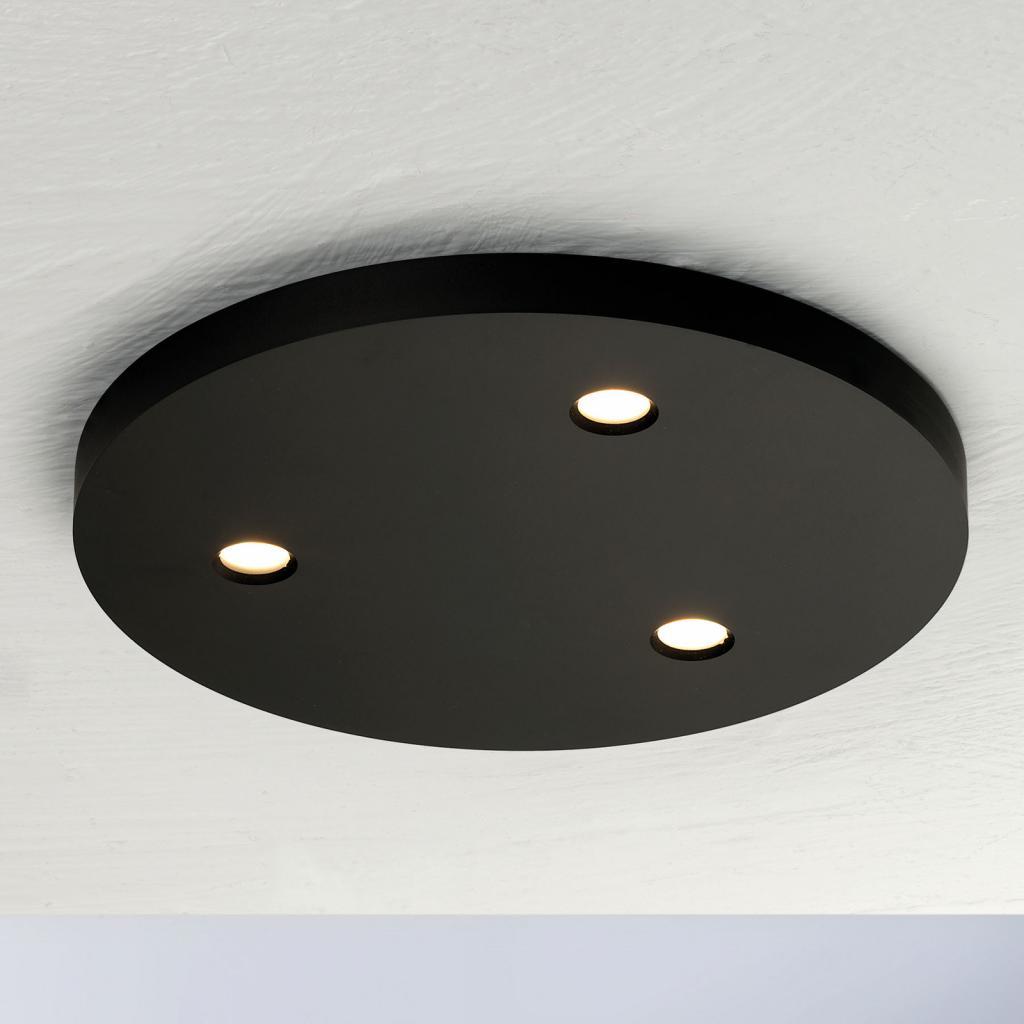 Produktové foto BOPP Bopp Close LED stropní světlo 3zdroje kulaté černá
