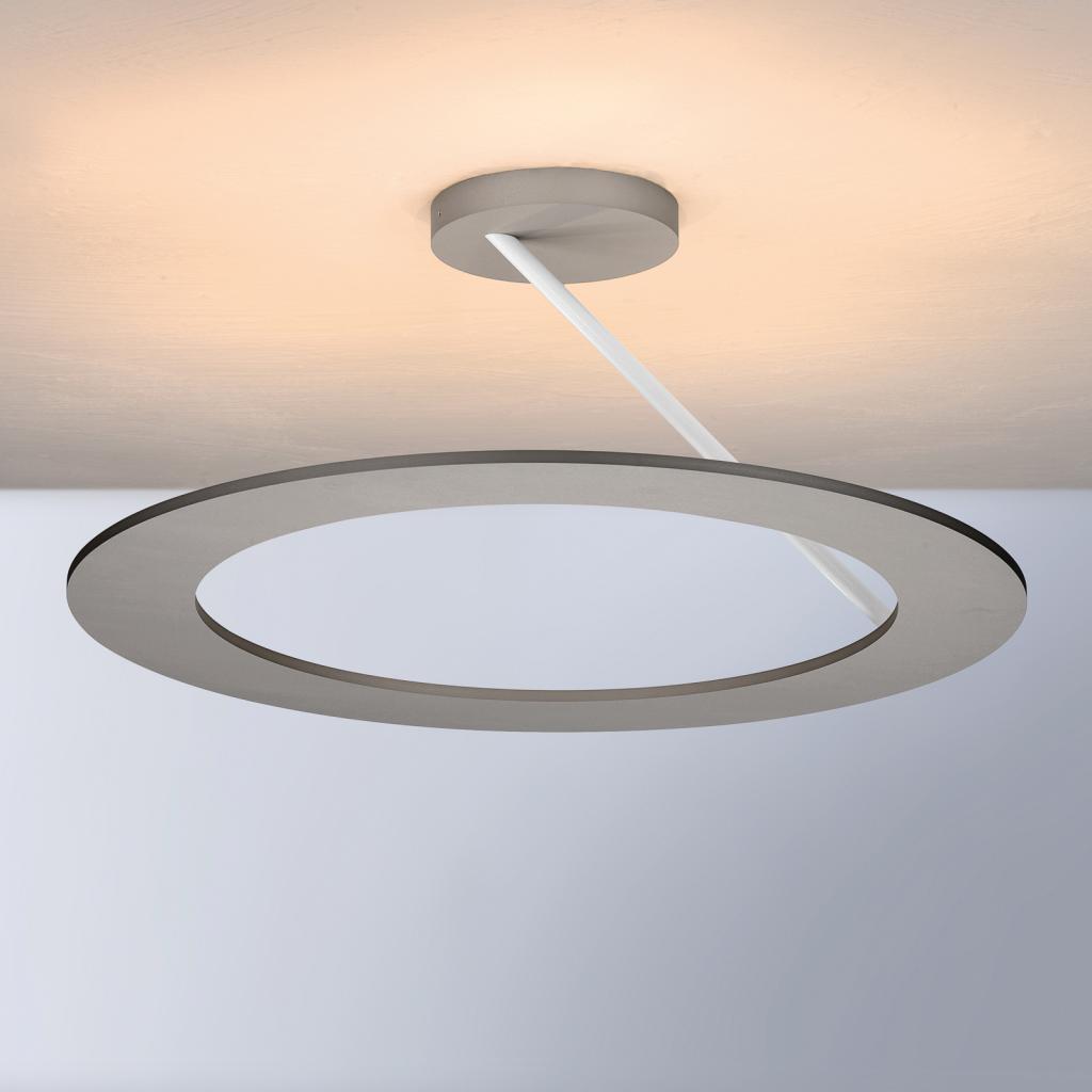 Produktové foto BOPP Bopp Stella stropní světlo 1 kruh Ø 45cm alu/bílá
