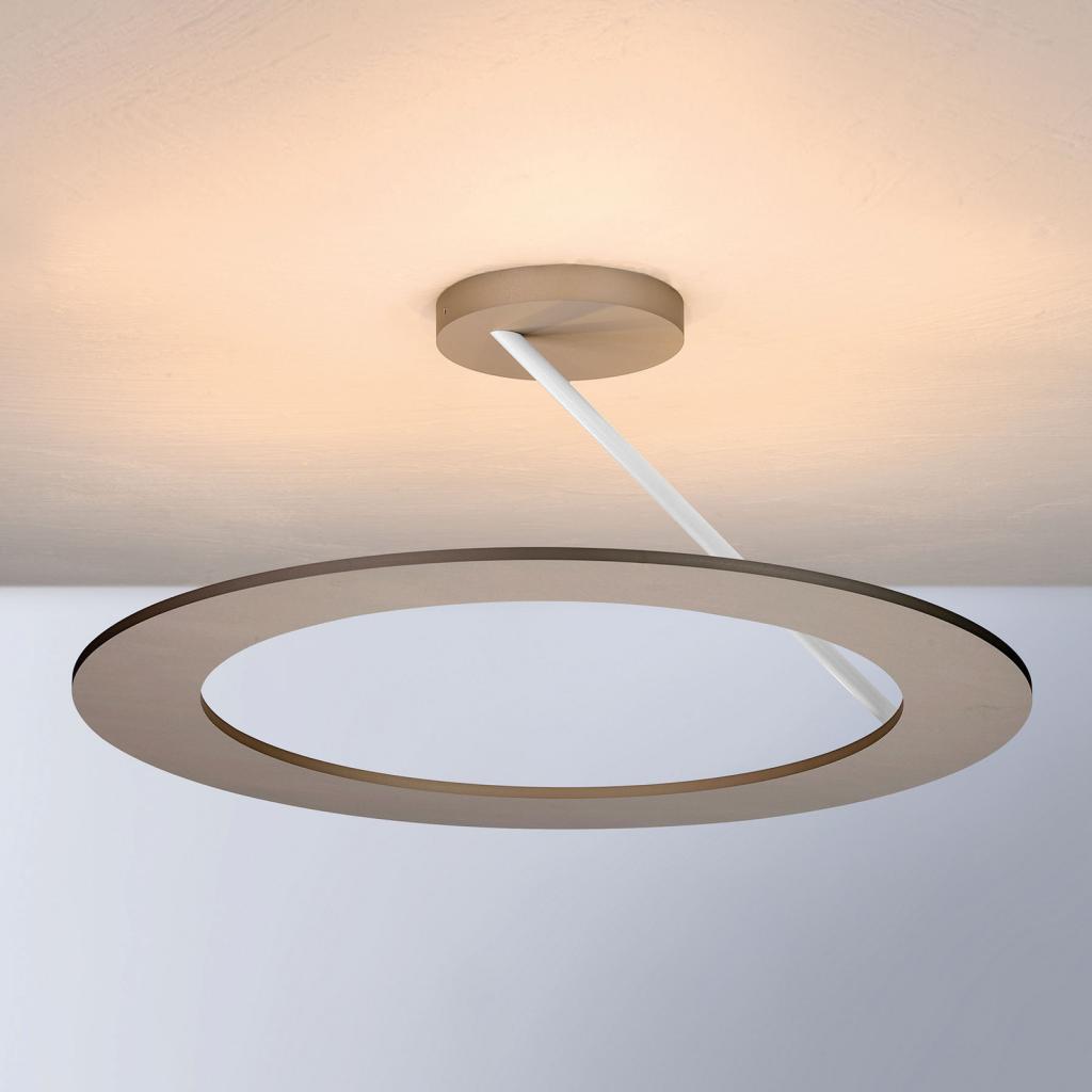 Produktové foto BOPP Bopp Stella stropní světlo 1 kruh Ø45cm taupe/bílá