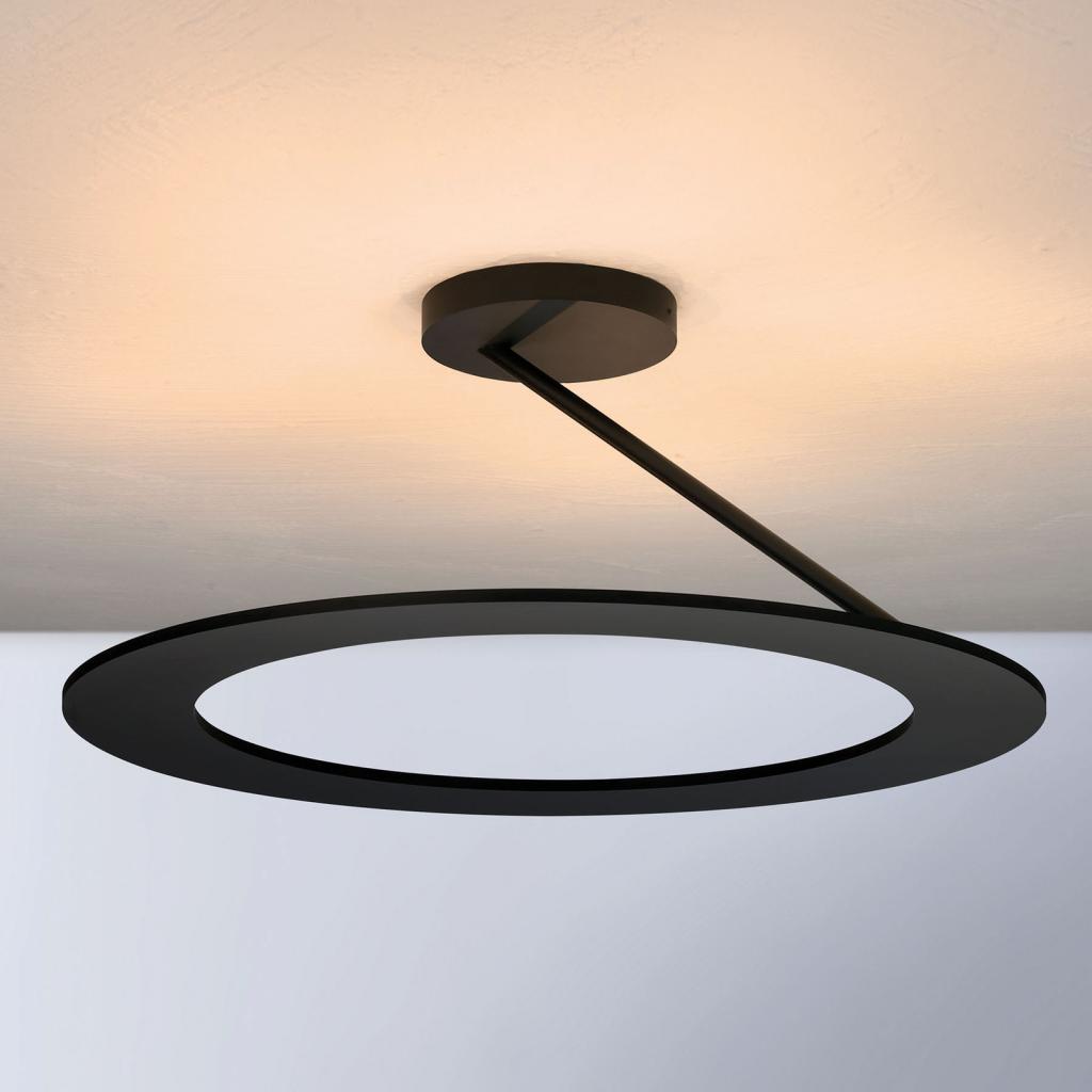 Produktové foto BOPP Bopp Stella stropní světlo 1 kruh Ø 45cm černá