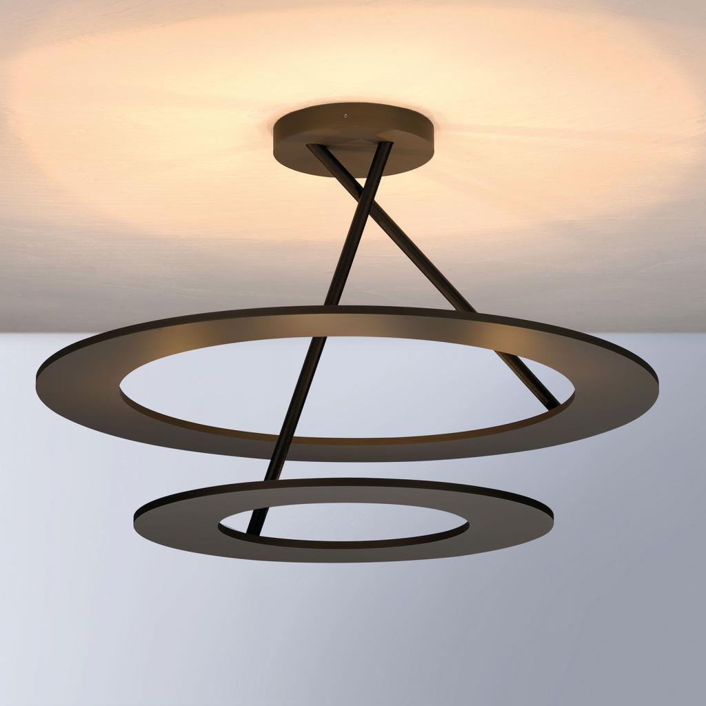 Produktové foto BOPP Bopp Stella LED stropní světlo 2kruhy bronz/černá