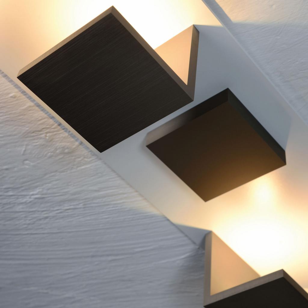 Produktové foto BOPP Bopp Reflections stropní světlo čtverec bílá/bronz