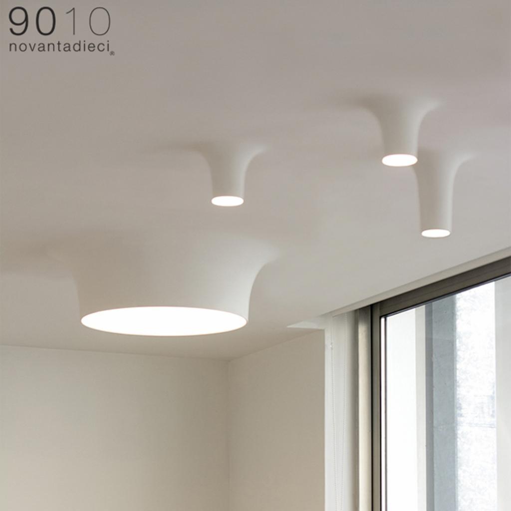 Produktové foto 9010 LED stropní svítidlo 8935D, 2 700K, 40,5x40,5cm