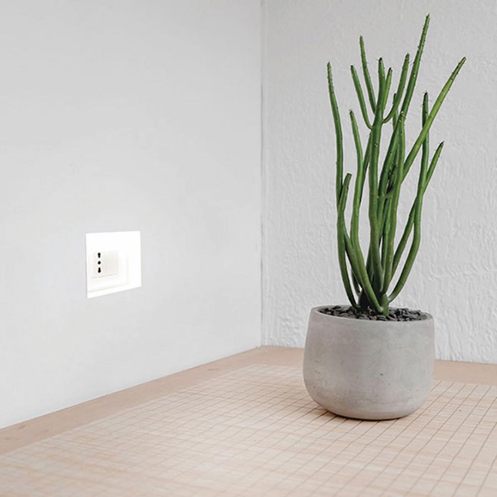 Produktové foto 9010 LED nástěnné podhledové světlo 4195A, 2 700 K