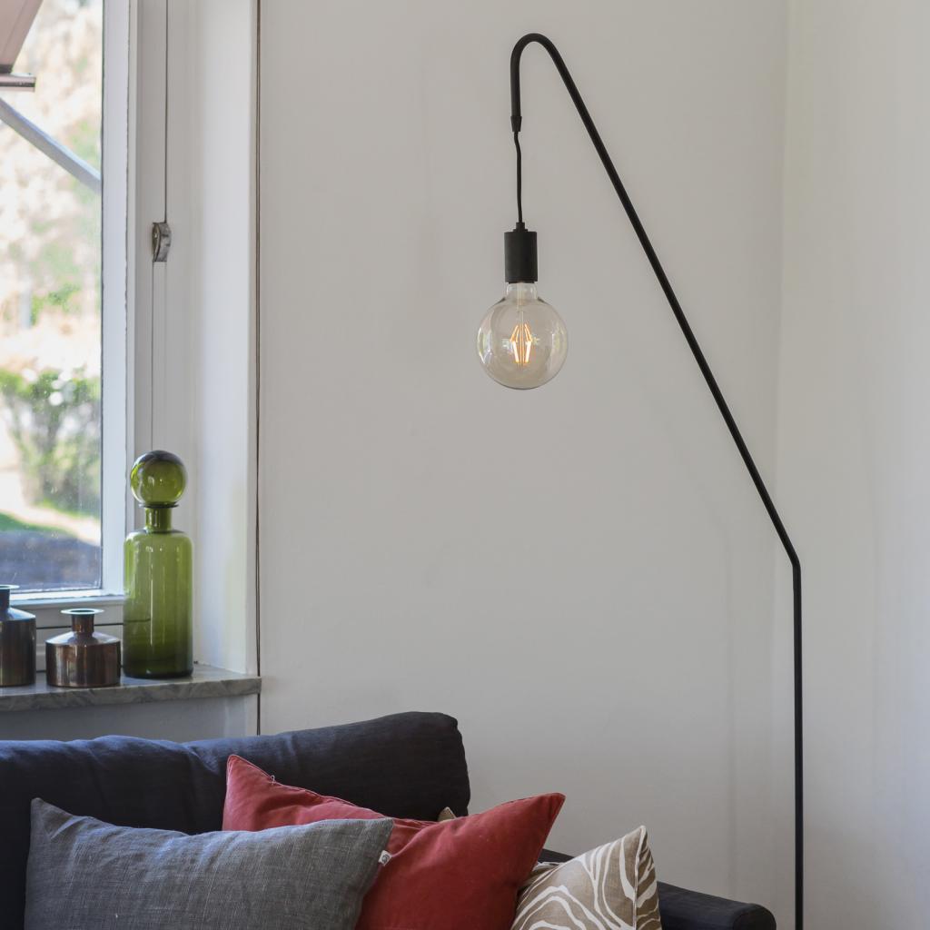 Produktové foto By Rydéns By Rydéns Rod stojací lampa, černá, výška 180 cm