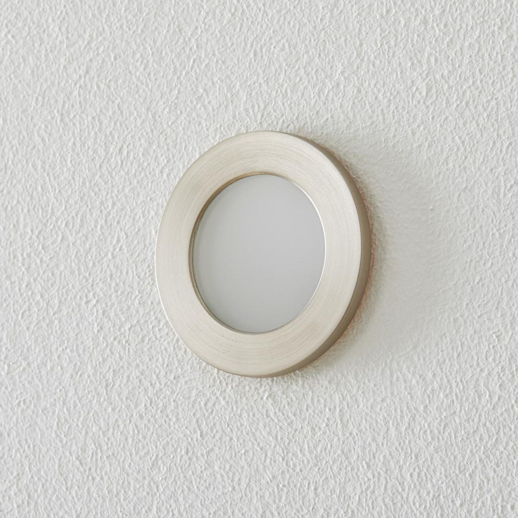Produktové foto BEGA BEGA Accenta nástěnné světlo kulaté rám ocel 315lm